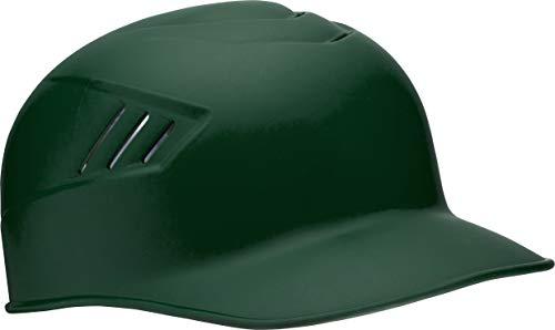 Rawlings CoolFlo Base Alpha Sized Coach Helmet, Matte Dark Green, Medium
