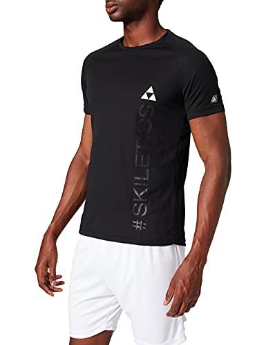 Fischer Sports Skiletics T-Shirt S/S Homme, Anthracite-Melle, XXL