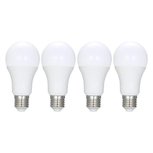4PCS Smart WiFi LED-Lampe RGB + C + W Smart Glühbirne AC220-230V 9W E27 Dimmbares Licht Tuya Smart Life APP-Fernbedienung Kompatibel mit Alexa Google Home Tmall Genie Voice Control