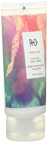 R+Co High Dive Moisture Plus Shine Crème for deep hydration and moisture, Creamy White 1.7 Fl Oz