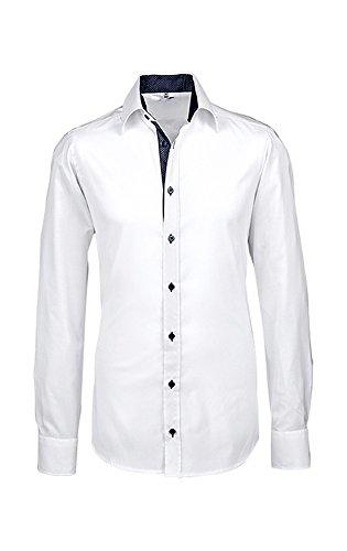 GREIFF Herren-Hemd Modern Slim Fit with 37,5, 66891, Größe 39/40