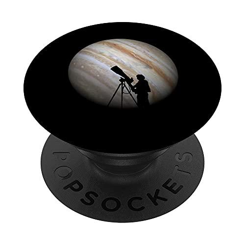 Astronomía astrología planetas estrellas regalo de PopSockets PopGrip: Agarre intercambiable para Teléfonos y Tabletas
