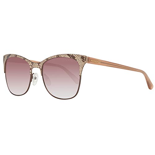Guess GM0774 5349F Guess by Marciano Sonnenbrille GM0774 49F 53 Schmetterling Sonnenbrille 53, Braun