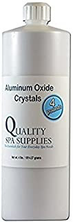 Aluminum Oxide Crystals - Microdermabrasion Crystals - 120 Grit, Pure White, 4lbs