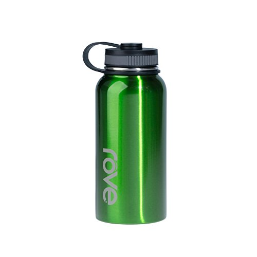 Rove 40oz Stainless Steel Single Wall Water Bottle - Commando (Green)