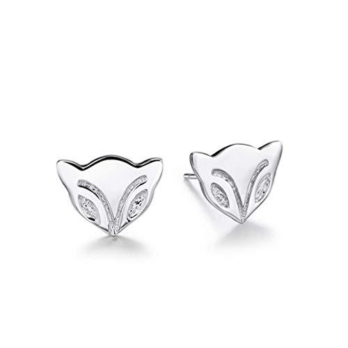 Preisvergleich Produktbild Vektenxi Bling Fox Ohrstecker für Frauen Cute Animal Ohrring Geburtstagsgeschenke langlebig und nützlich