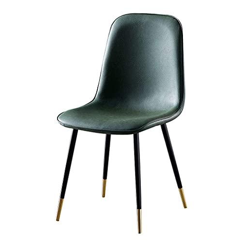 Semplice sedia da pranzo per la casa, sgabello ergonomico per il trucco dello schienale, moderna sedia laterale, adatta per camera da letto, sala da pranzo, dimensioni: 86 volte; 40 volte; 45 cm (34 v