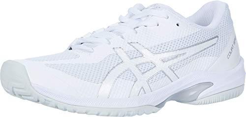 ASICS Women's Court Speed FF Tennis Shoes, 10, White/White