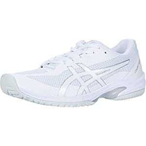 ASICS Women's Court Speed FF Tennis Shoes, 12, White/White