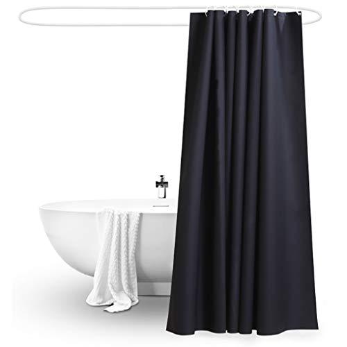 Rideaux de douche Rideau de douche PEVA protection de l'environnement imperméable à l'eau mildiou rideau de douche Envoyer crochet (largeur * hauteur) Rideaux de douche de haute qualité