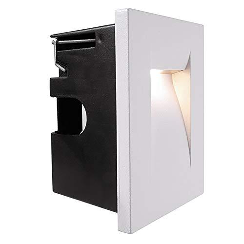 LED-Einbaustrahler für den Außenbereich, 3,6 W, vertikal, warmweiß, IP65, 230 V