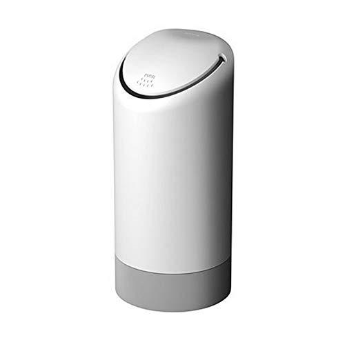 Withou Portátil Mini Basura de Silicona, Bote de Basura de automóviles de Gran Capacidad Puede Rack, Adecuado para Familia, Cocina. (Color : White)