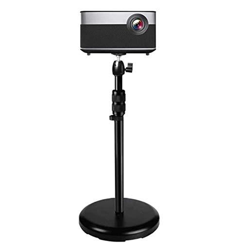 Soportes para proyectores Soporte de proyector de proyector Duradero, Estante de Noche de pie, rotación de 360 ° 180 °, inclinación, Solo Soporte (Color : Default)