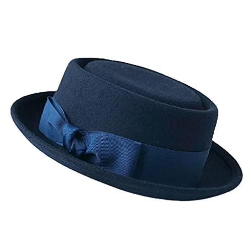 Fieltro de las lanas del casquillo del lavabo del sombrero del color sólido del sombrero del cubo...