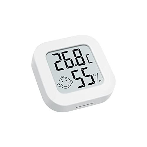 iBaste Termo-higrómetro digital, termómetro interior, termómetro digital, higrómetro, termómetro de interior, higrómetro digital, termómetro para el control del clima de la habitación
