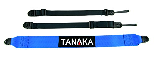 Tanaka Racing Style Cross Body Universal Duffel Bag/Camera Strap (Blue)