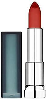 Maybelline Sensational Lipstick Creamy Matte Burgundy Blush - メイベリンセンセーショナルな口紅クリーミーマットバーガンディ赤面 [並行輸入品]