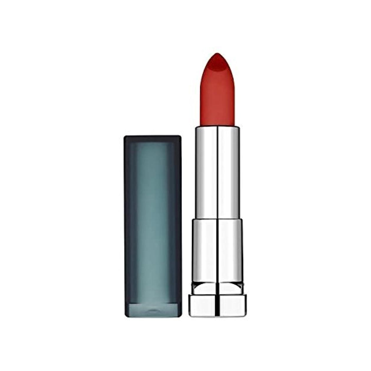 ソーシャル島タイトルMaybelline Sensational Lipstick Creamy Matte Burgundy Blush - メイベリンセンセーショナルな口紅クリーミーマットバーガンディ赤面 [並行輸入品]