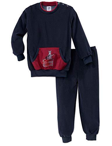 CALIDA Baby-Jungen Toddlers Rockstar Zweiteiliger Schlafanzug, Rot (Dark Sapphire 479), 92/98 (Herstellergröße:92)
