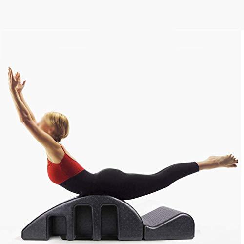 LQ-RLL Desmontable Yoga Pilates Cama quiropráctica, Corrector de Columna de Pilates Alivio del Dolor de Espalda Alinee su Columna Vertebral Columna Vertebral Grande Barril Curva de la Espalda Salud