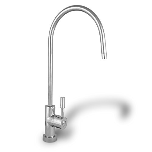 Ronaqua Water Filter Purifier Faucet European Style Polished Chrome WELL-MATCHED with GA1, KS3198A, 1WEBN1, NZ-6501