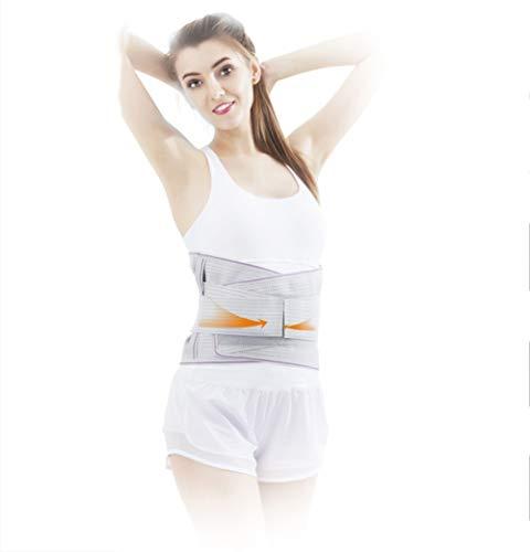 L&F Lordosenstütze mit Doppel mit einem Band Versehen Starke Kompression Zugbänder, Breathable Waist/Lower Back Brace,XL
