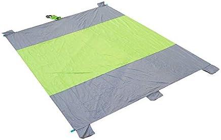 SJZC Picknick Matte Picknickdecke Wasserdichte Campingdecke Stranddecke Outdoordecke,Grün B07JG51J5W | Sehr gute Qualität