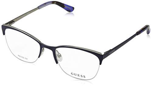 Guess GU2642 Monturas de gafas, Azul (Blu Op), 50.0 Unisex Adulto