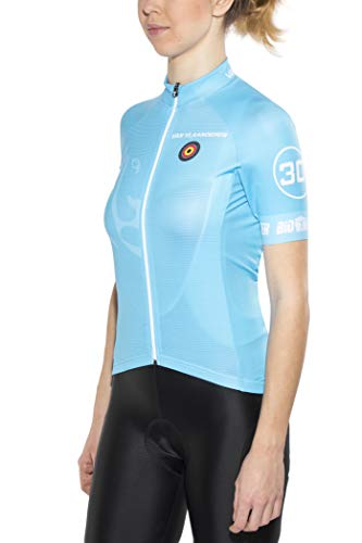 Bioracer Van Vlaanderen Pro Race Trikot Damen Blue Größe XL 2020 Radtrikot kurzärmlig