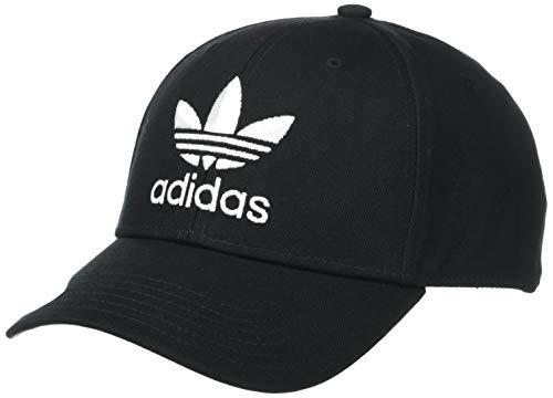 adidas Originals Herren Icon Preurve Snapback Cap, Herren, Mütze, Originals Icon Precurve Snapback Cap, schwarz/weiß, Einheitsgröße