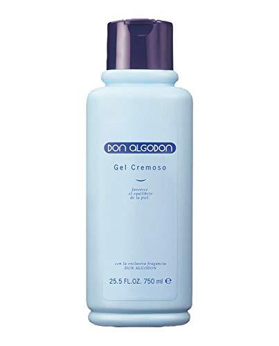DON ALGODON gel crema de ducha bote 750 ml