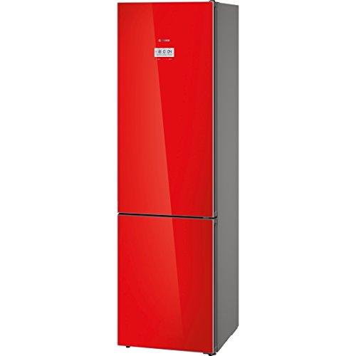 Bosch Serie 8 KGF39SR45 Independiente 343L A+++ Rojo nevera y congelador - Frigorífico (343 L, SN-T, 14 kg/24h, A+++, Compartimiento de zona fresca, Rojo)