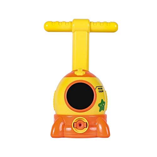 WNFYES Coche globo Experimento Cápsula espacial inercial Lanzamiento Power Tower Globo de coches Ciencias de la Educación juguete juguetes rompecabezas de la diversión de balones de regalo de los niño