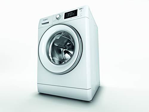 Whirlpool - Lavasecadora 7 kg FWDD 1071682 WSV EU N blanco, 1600 rpm, tecnología 6th sense y steamcare, motor CIM, eficiencia NEL E