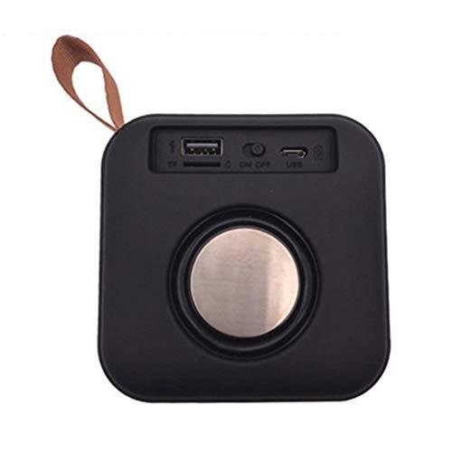 DKee. Ein gewebtes drahtlose Bluetooth-Lautsprecher tragbare Lautsprecher Nette U Festplatten-TF-FM Radio schwarz Netz