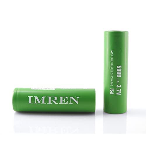 IMREN 3.7v Rechargeable Battery 5000mAh for...