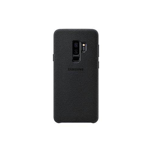 Samsung AlcantaraCover –Funda para Galaxy S9+, color negro