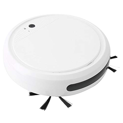 Aspiradora de bajo ruido USB recargable de un solo botón de limpieza para oficina Blanco/Negro opcional (blanco)