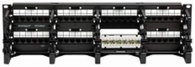 Commscope PM-GS3-48 W/Termination MGT | 760062364 48-Port Black Cat-6 UTP Copper Patch Panel
