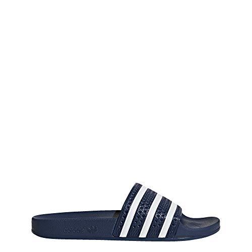 adidas Originals Herren Adilette, White/Adidas Blue, 44 EU