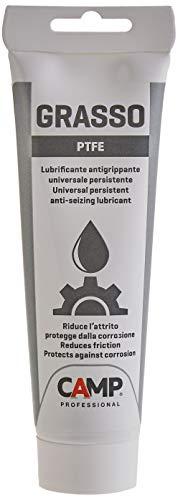Camp GRASSO PTFE, Grasso lubrificante sintetico a base di PTFE ad alte prestazioni, Effetto anti-usura e anti-grippaggio, 150 ml