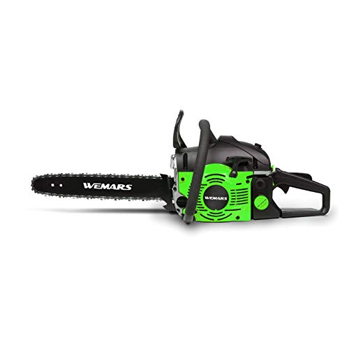 Learn More About WEMARS 16-inch Gas Powered Chainsaw with Carrying Case