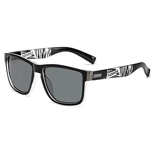 Reúne 01 Marca de Diseño de los Hombres Gafas de Sol Polarizadas Masculino Cuadrado Conducción Gafas de Sol Vintage Recubrimiento Espejo Sunglass Uv400 Sombras Oculos De Sol