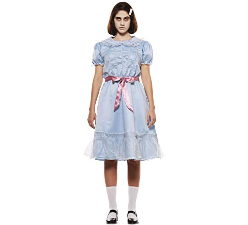 EUROCARNAVALES Disfraz de Gemela Fantasma para Mujer