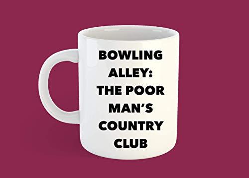 N\A Bowlingbahn Tasse Bowling Tasse Bowling Geschenk Bowler Geschenk Bowling Humor