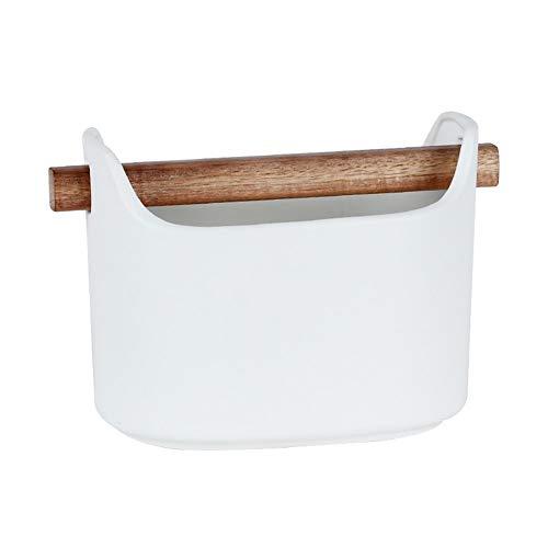 ZHNA Style Nordique Chopstick Tube, Céramique Creative Cuisine Chopsticks, Couteau et Fourchette boîte de Rangement, Bureau Boîte de Rangement (Color : Large)