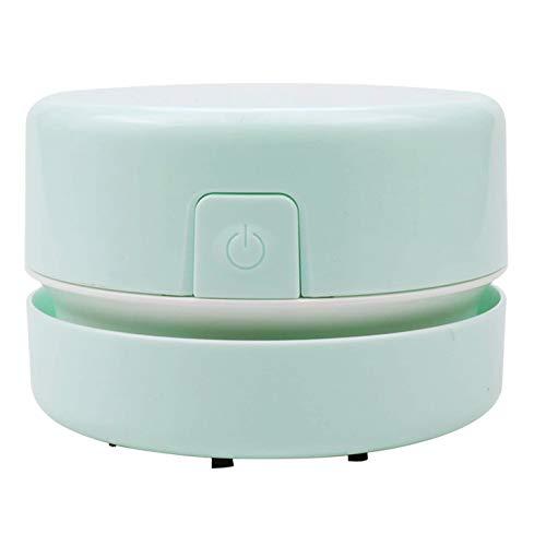 Exanko Limpiador PortáTil Aspiradora de Escritorio Herramientas de Pintura de Diamantes Accesorios de Pintura de Diamantes 5D (Verde Claro)