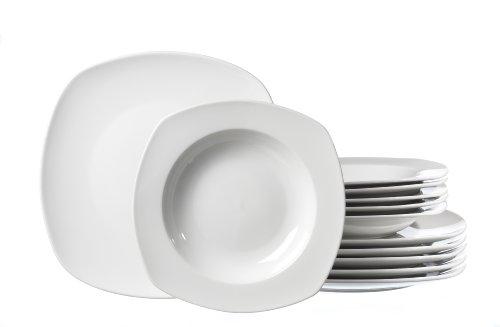 Ritzenhoff & Breker Tafelservice Primo, 12-teilig, Porzellangeschirr
