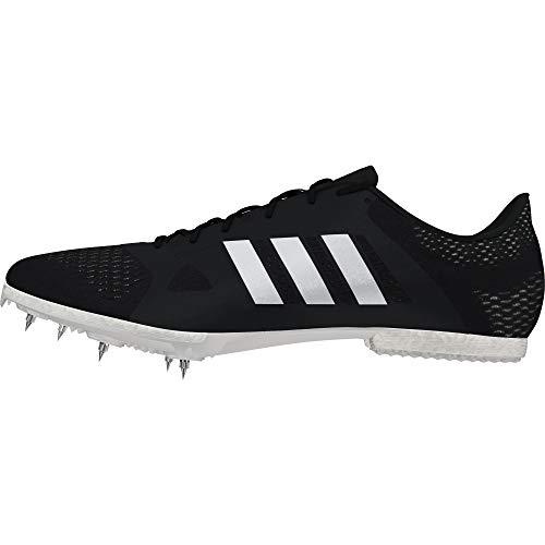adidas Unisex-Erwachsene Adizero Middle-Distance Leichtathletikschuhe, Schwarz (Negbás/Cermet/Ftwbla 000), 46 EU