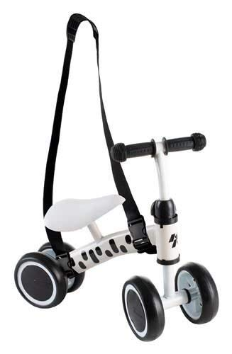 Bicicleta de cuatro ruedas de equilibrio para niños a partir de 1 año, entrenamiento de equilibrio, primera bicicleta para bebé, 4 ruedas, resistente, regalo para 10 – 36 meses